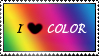 I love color stamp by chinatsumori-chan