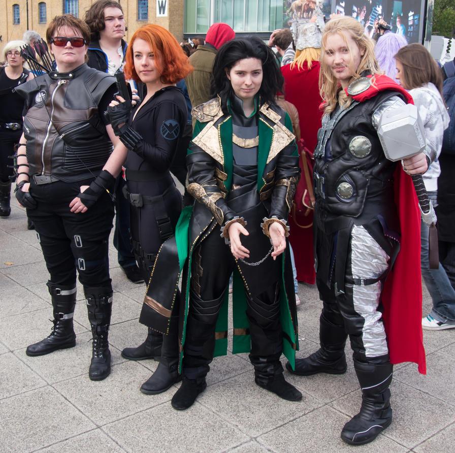 MCM Expo 2013 161 - Avengers by cosmicnut