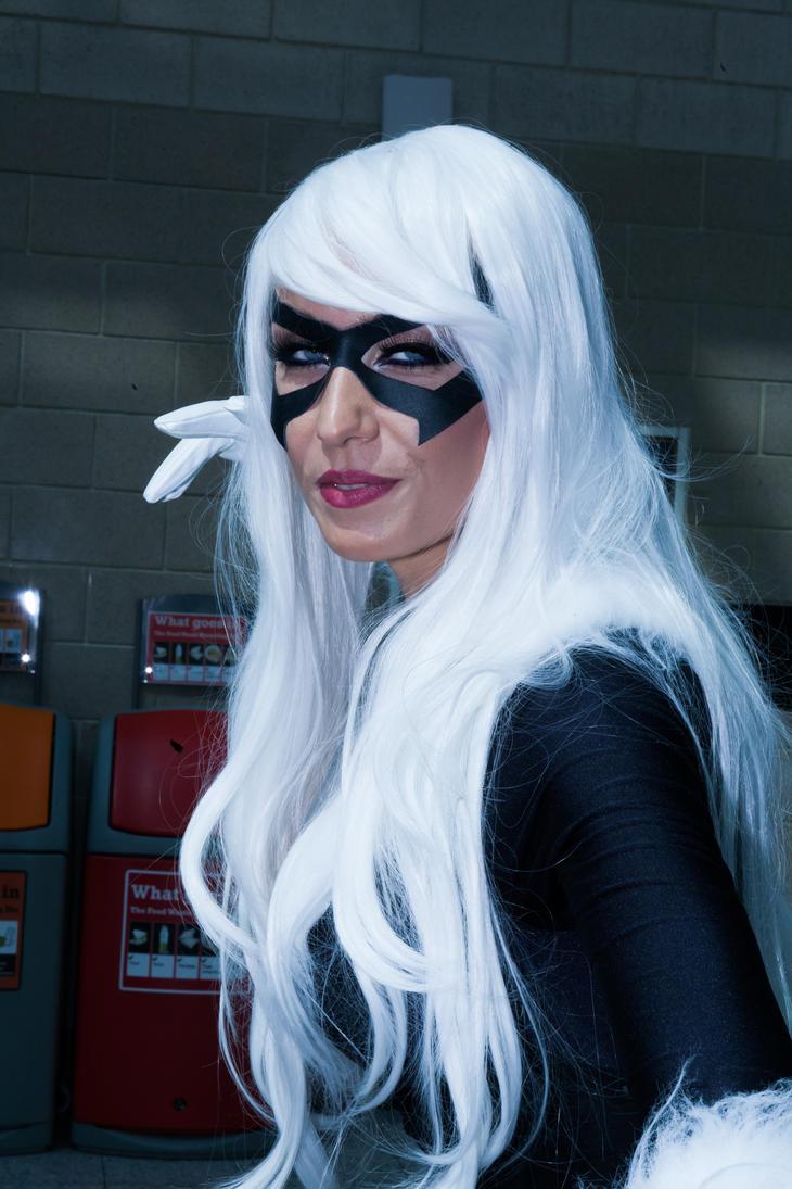 MCM London May 17 Giulietta Zawadzki as Black Cat by cosmicnut