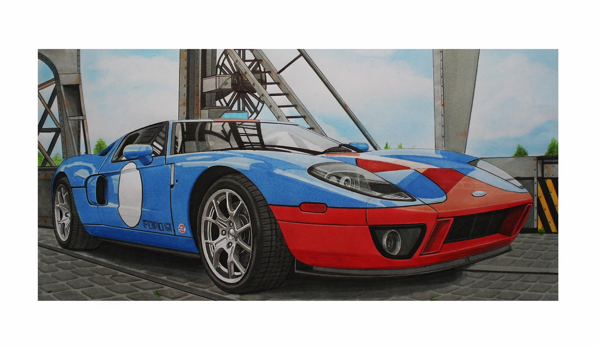 ford gt by Stephen59300