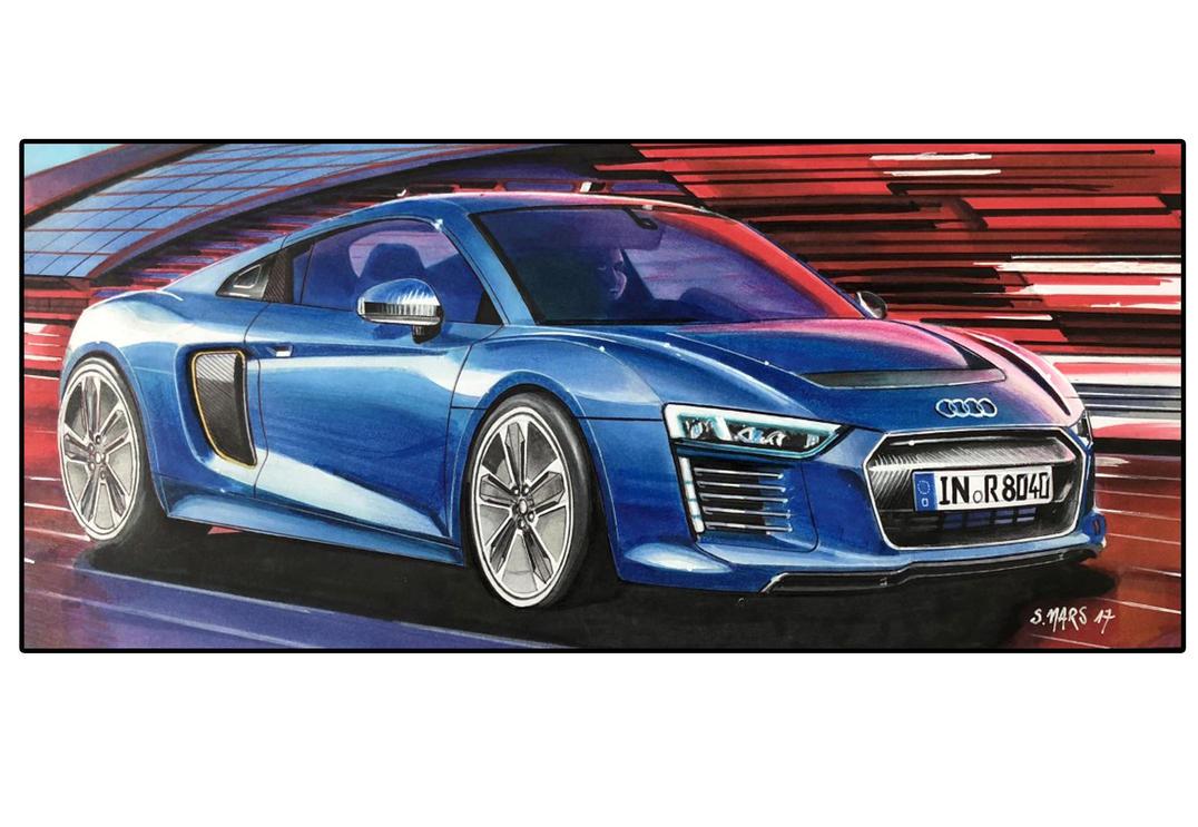 AUDI R ETRON By Stephen On DeviantArt - Audi r8 e tron