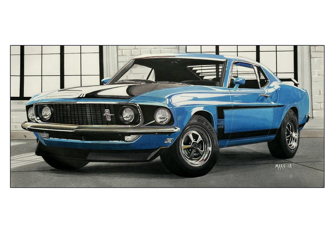 MUSTANG BOSS 302  of 1962' by Stephen59300
