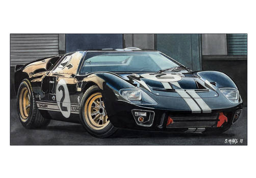 Ford Gt40 Shelby Mk2 1966