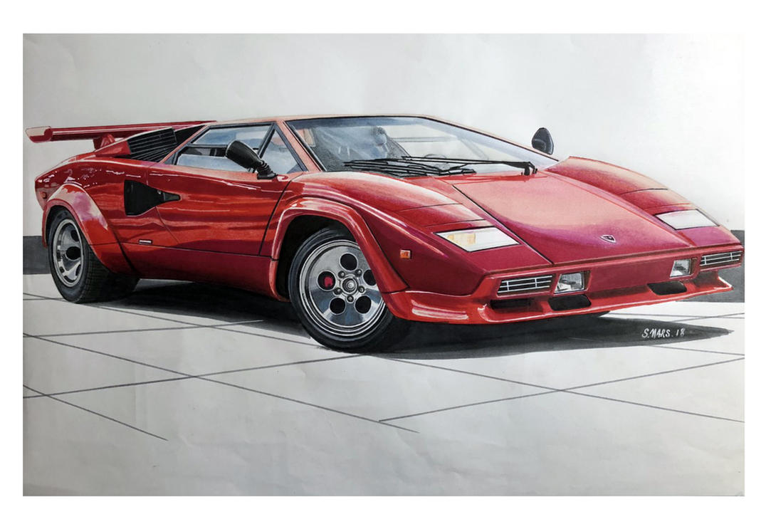 Lamborghini Countach by Stephen59300
