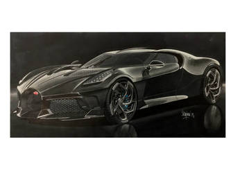Bugatti La Voiture Noire by Stephen59300