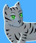 Kawaii-Tiger-Cat by AikaterinaKounelaki