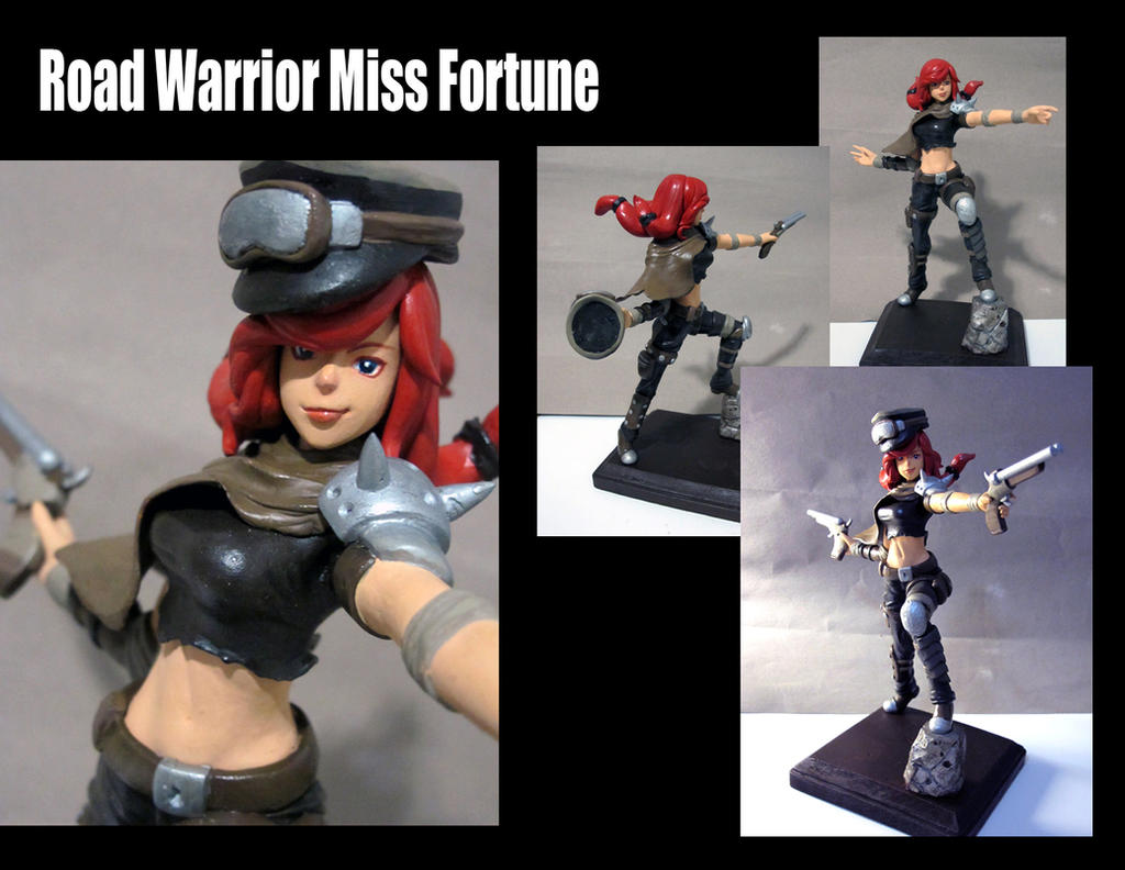 Road Warrior Miss Fortune by Hojin-tron