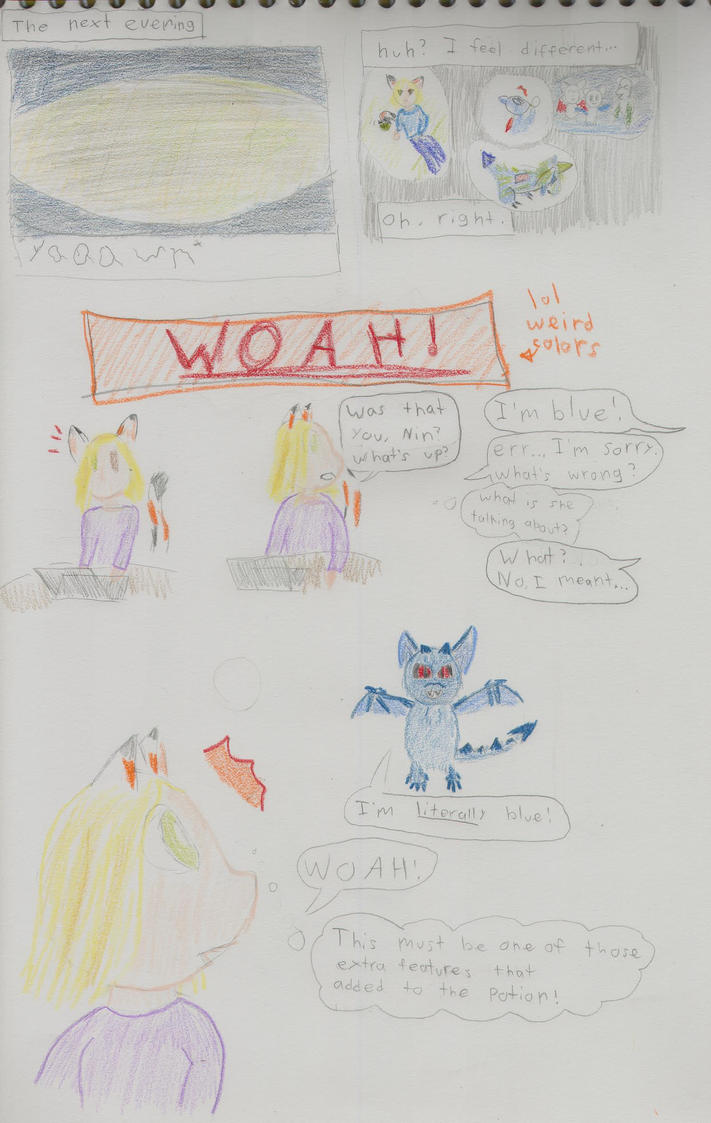Nin's color...comic? by GhostKITTEN