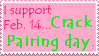 Crack Pairing day stamp by GhostKITTEN
