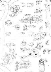 ACTfur on Paper 01 by GhostKITTEN