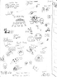 ACTfur on Paper 03 by GhostKITTEN