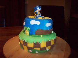 Sonic Cake by NikkiXKaila