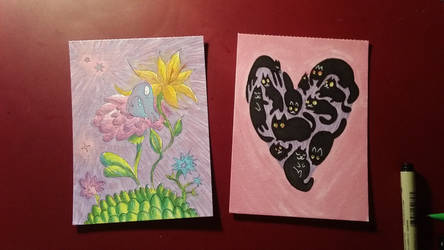 Mothers day cards for loved ones by Peikkolainen