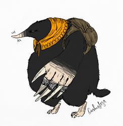 Akka the barbarian by Peikkolainen