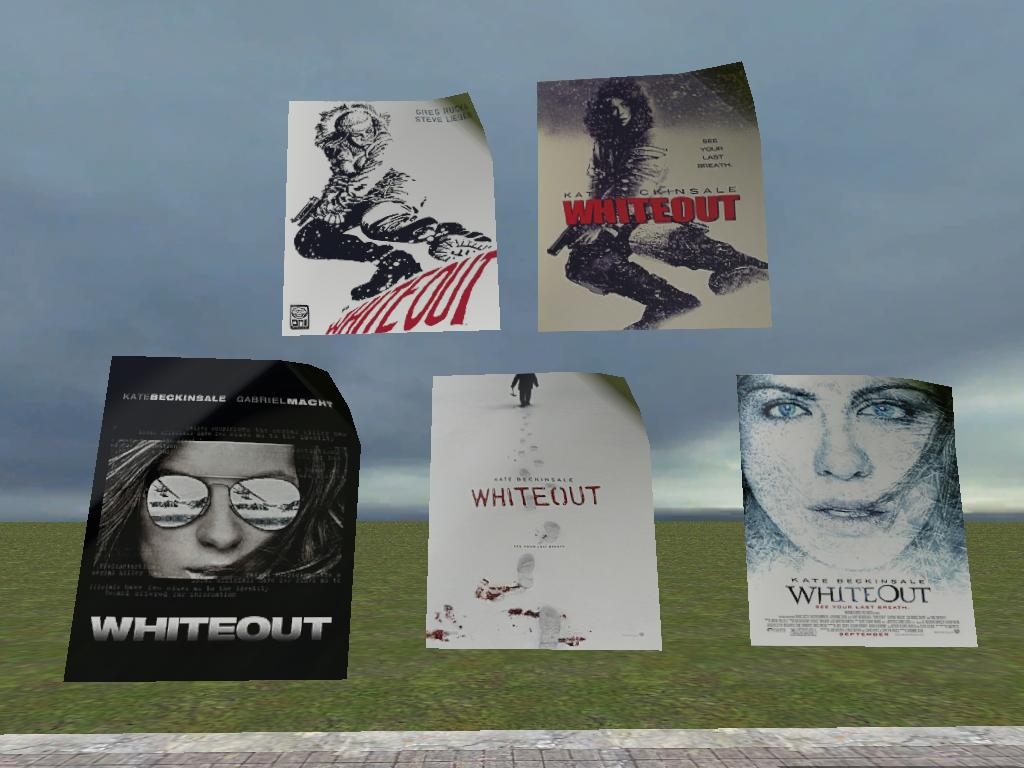 Whiteout Posters
