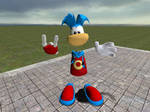 Rayman with Metal Fist