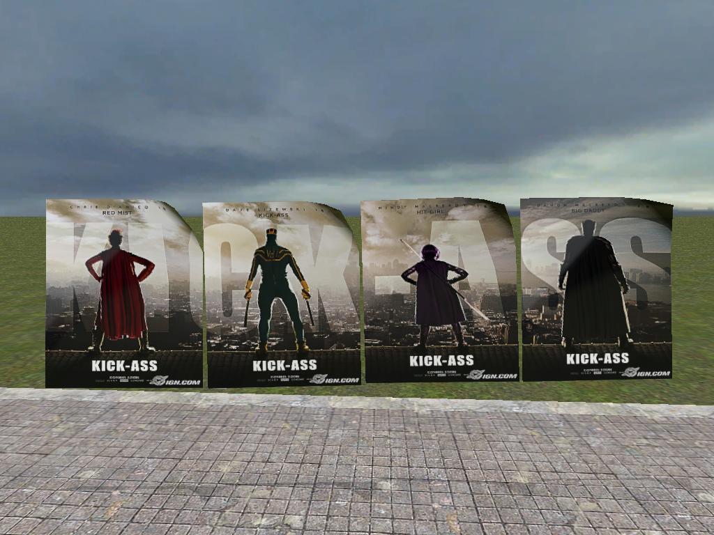 Kick Ass Posters