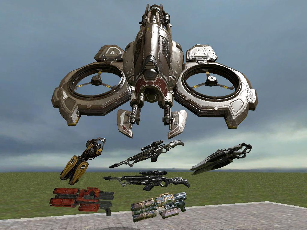 UT3 Weapons and Manta Ports V2
