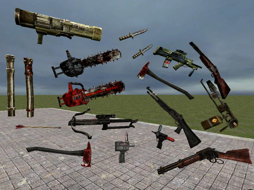 Killing Floor Mod Weapons Fin by SilverSpiritUK