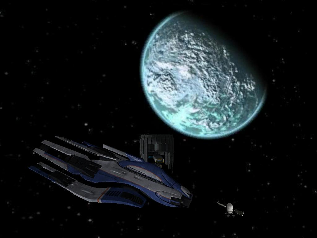 Ship in Space