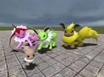Shiny Eevee Crew