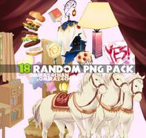 Random PNGs PACK # 02 by Omira24Chan
