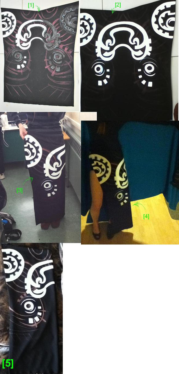 Midna Cosplay - WIP - Skirt by ShikaNime
