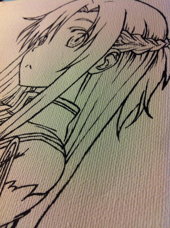 SAO - Asuna closeup by ShikaNime