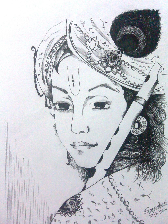 Lord Krishna. by Saurav-Harsh on DeviantArt