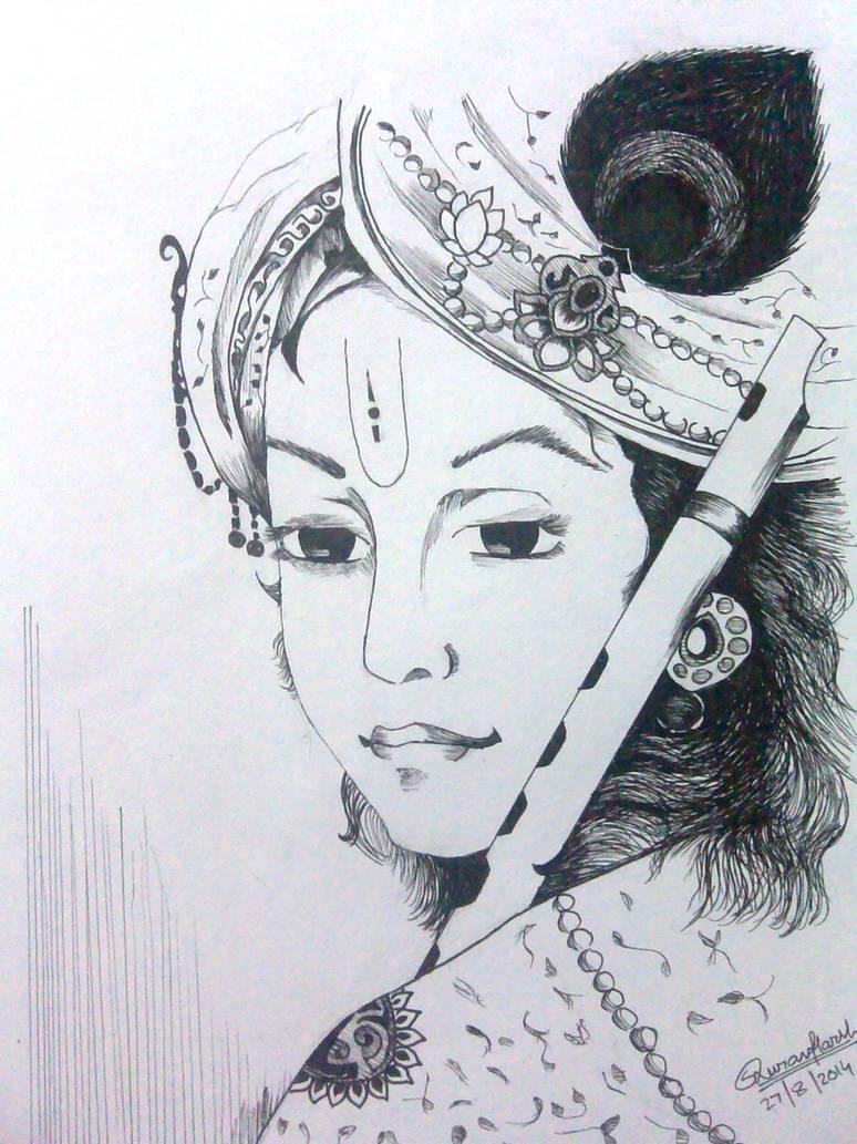Lord krishna by saurav harsh