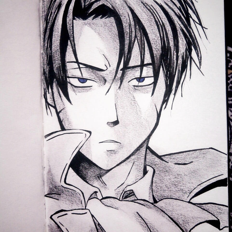Character Request : Levi Ackerman by Saurav-Harsh