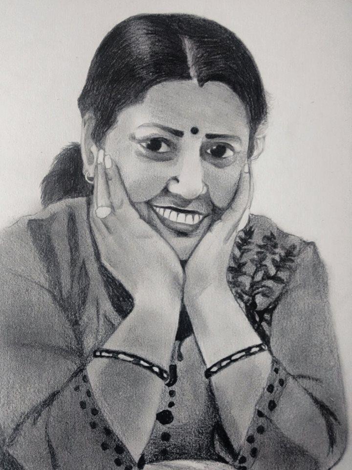 My MOM by Saurav-Harsh