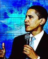 Obama by HypnoticP