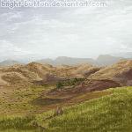 A Mountainous Pixel by Bright-Button