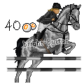Pixel Horse Greyscale - 40 points by Bright-Button