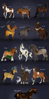 CONTINENTAL ADOPTS - [ALL SOLD] by Bright-Button