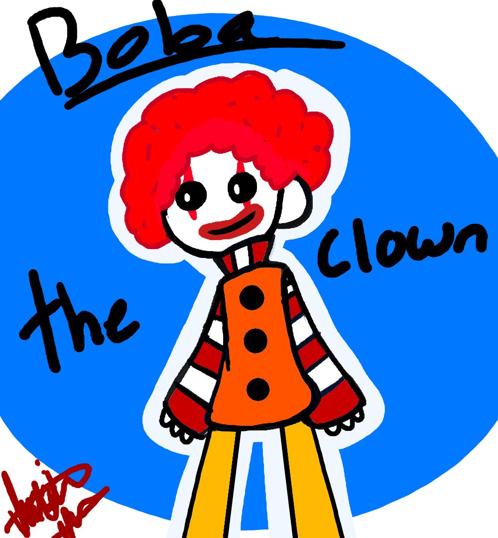 BOBA the clown