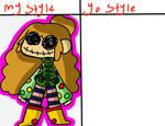 My Style Yo Style Art Meme