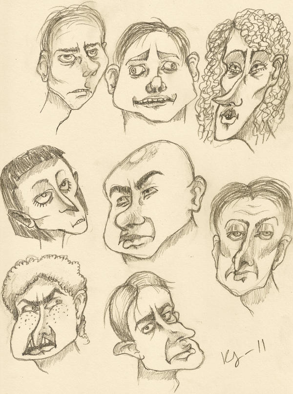 Ugly faces by koojii on deviantart - Ugly face wallpaper ...