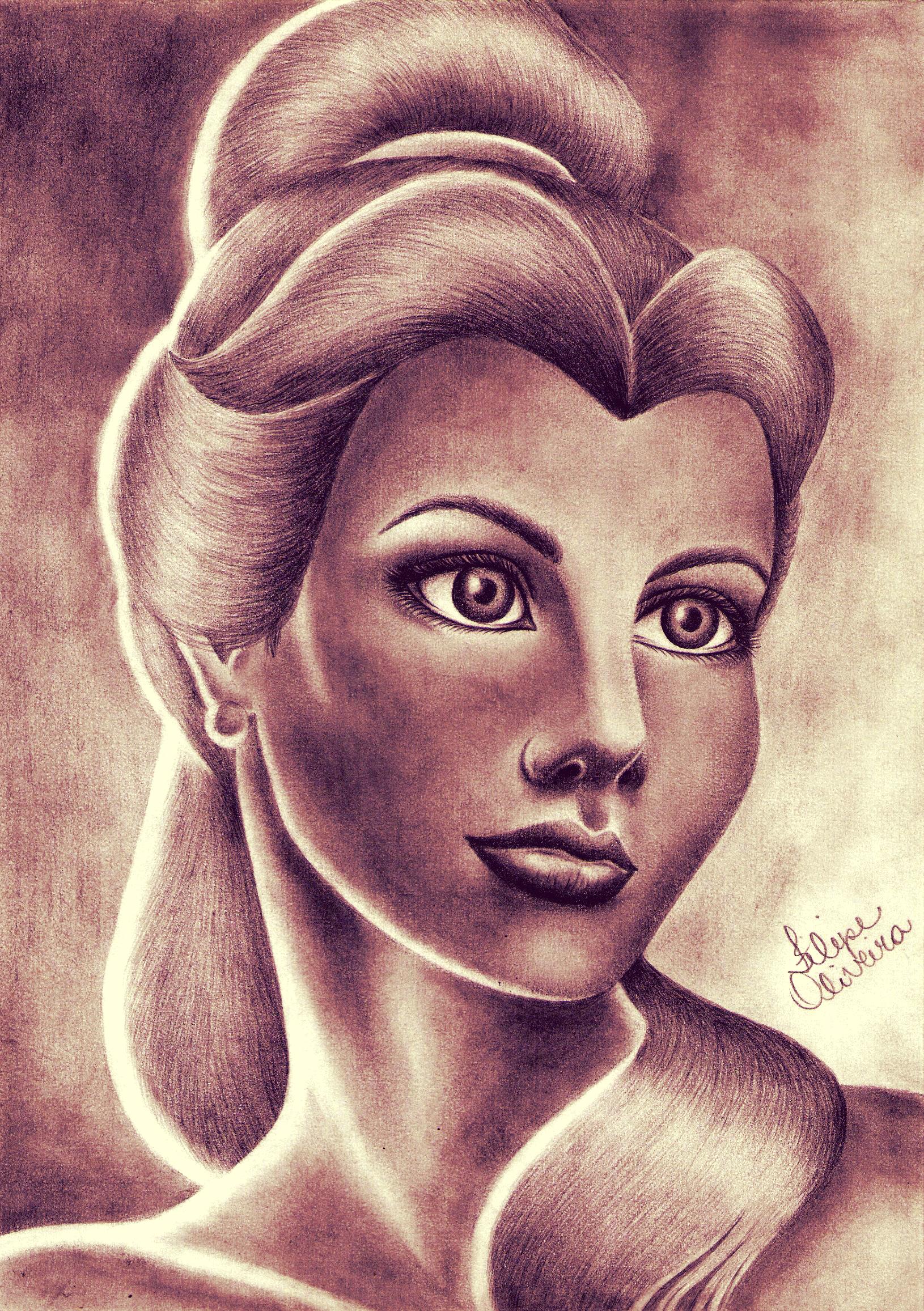 Disney Princess Belle Real Life By Filipeoliveira On Deviantart