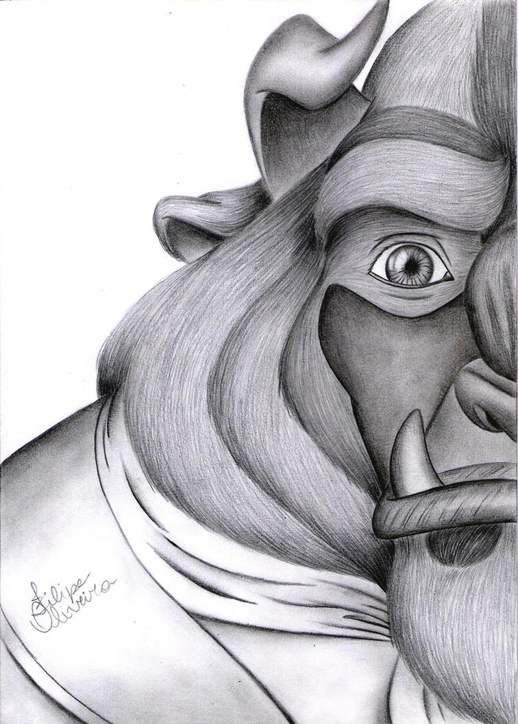 Beast Disney by filipeoliveira