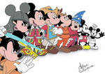Mickey Mouse Disney - Colored