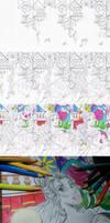 Belle - Disney Princess (10 steps-not finished) by filipeoliveira