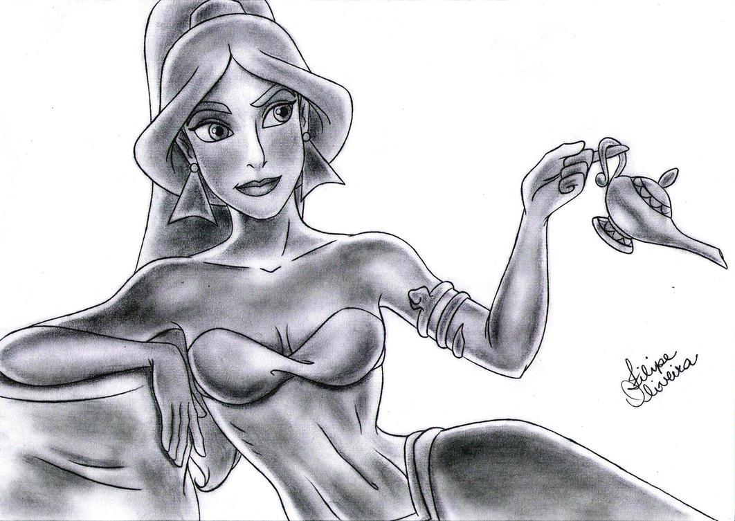 Disney Princess - Jasmine by filipeoliveira