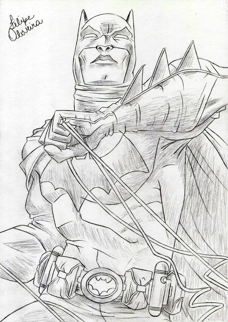 DC Comics - Batman by filipeoliveira