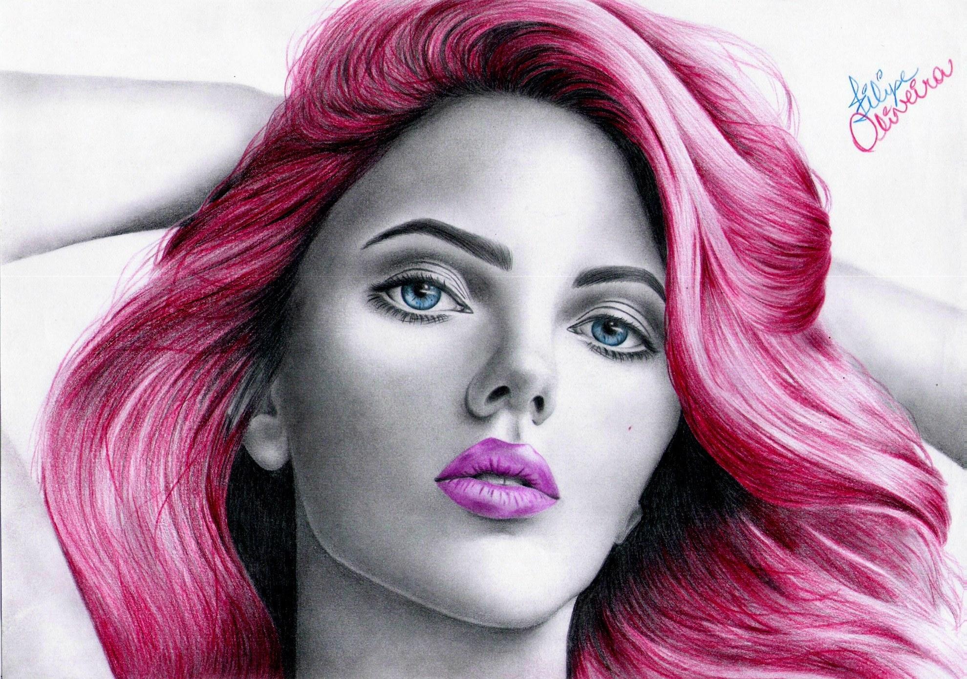 Marvel - Black Widow - Scarlett Johansson by filipeoliveira