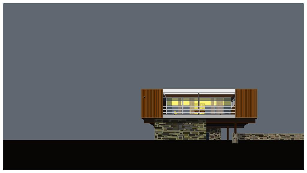 Wolfson Trailer House by molibali