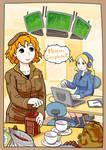 meg and Sophie -Coffee Break-