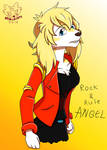 Rock and Rule - Angel the golden retriever