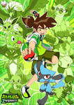 Pokemon - Ben Burst Heart Zygarde Poster